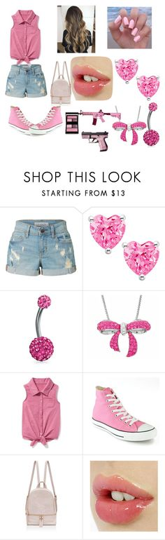 """The Meet Up"" by arianna-mitchell-1 on Polyvore featuring LE3NO, Bling Jewelry, Amanda Rose Collection, Old Navy, Converse and Surratt"
