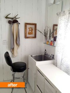 Laundry room redo: Apartment Therapy