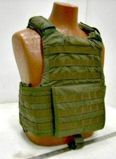 Protect yourself with this Releasable Body Armor Vest from GovLiquidation.