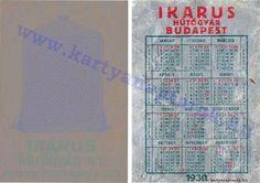 1930 - 1930_0011 - Régi magyar kártyanaptárak
