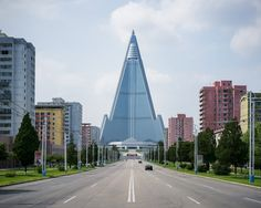 """The country's founding father, Kim Il-sung, conceived of the new Pyongyang as """"a…"""