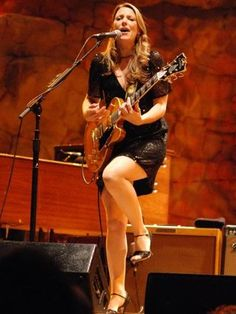 Hugh Duty uploaded this image to 'misc'. See the album on Photobucket. Susan Tedeschi, Tedeschi Trucks Band, Derek Trucks, Allman Brothers, Rock Groups, Rhythm And Blues, My Muse, Soul Music, Playing Guitar