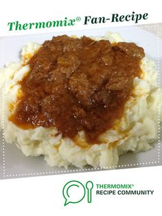 BRAISED STEAK & ONION by CarlyHill. A Thermomix <sup>®</sup> recipe in the category Main dishes - meat on www.recipecommunity.com.au, the Thermomix <sup>®</sup> Community.
