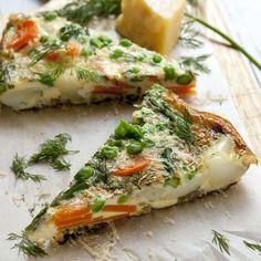 Frittata al forno di verdure