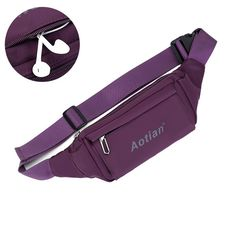 Women Men Outdoor Sports Waist Bags Casual Crossbody Bags Light Waterproof Running Bags  Worldwide delivery. Original best quality product for 70% of it's real price. Hurry up, buying it is extra profitable, because we have good production sources. 1 day products dispatch from...