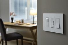 LegrandPass and Seymour Radiant 15 Amp Single Pole Rocker Wall Light Switch White * Find out more about the great product at the image link-affiliate link. White Wall Lights, Home Automation, Gallery, Image Link, Pictures, Dining Room, Amp, Home Decor, Photos