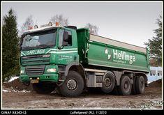 GINAF X4343-LS 8x6 kippertruck van Hellinga in Steenwijj