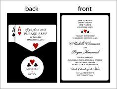 Panel Pocket CLASSIC VEGAS Vegas or poker by WoodlarkDesigns