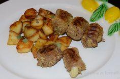 Braciole alla messinese: stuffed meat rolls, a traditional Sicilian recipe