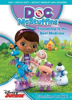 Doc McStuffins: Friendship Is The Best Medicine on www.amightygirl.com