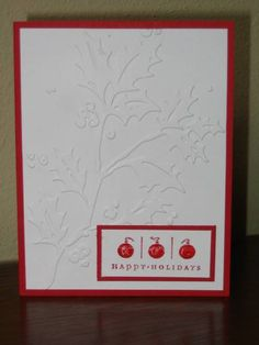 Take Three Hapy Holidays by Ioana - Cards and Paper Crafts at Splitcoaststampers