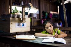 These Plant-Powered Lamps Light Up A Peruvian Rainforest Village