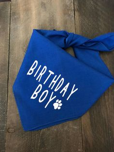 Birthday Boy Dog Bandana. Dog Birthday Bandana. Dog Birthday New Tricks, Boy Dog, Dog Bandana, Dog Birthday, Old Dogs, Teaching, Puppies, Sayings, Party