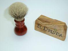 Druida Bulbo, Red Heart, Silvertip Grade A 20 mm - Foro Afeitado  www.artesaniaeldruida.com