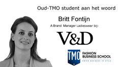TMO oud-student Britt Fontijn, A Brand Manager Ladieswear V