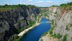 Lom Velká Amerika je český Grand Canyon