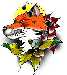 Fox tattoo idea by #tondriktattoo  please do not copy. #neotraditional #fox #tattoo #foxtattoo #neotraditionalfoxtattoo