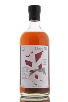 The Five of Diamonds from the Ichiro's Malt Card Series. Single cask 1305, distilled in 2000 and firstly aged in a hogshead; it was then transferred to a sherry butt for a second period of maturation before being bottled in 2012 at 57.7% vol. Hanyu distillery ceased production in 2000, and was later opened once again in 2007 by Ichiro Akuto as the Chichibu Distillery. http://www.abbeywhisky.com/hanyu-2000-five-of-diamonds-sherry-butt-finish-cask-1305-japanese-whisky