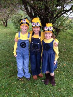 Homemade Minion Costumes: Halloween Costumes, Homemade Minions ...