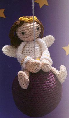cute crochet doll/ornament angel inspiration