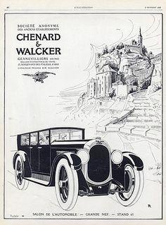 Chenard & Walcker (Cars) 1926