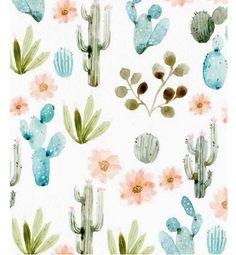 Cactus watercolor print