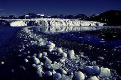 Glacier Svalbard, Norway