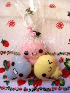Candy plushies by VioletLunchell.deviantart.com on @deviantART