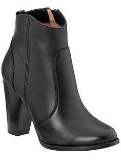 Joie Dalton Booties {perfect black booties}