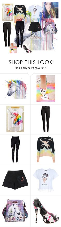"""""""Unicorn"""" by paolapanda ❤ liked on Polyvore featuring Cute To the Core, H&M, Wildfox, Samantha Pleet, New Look, Nicole Lee, Iron Fist and Sophia Webster"""