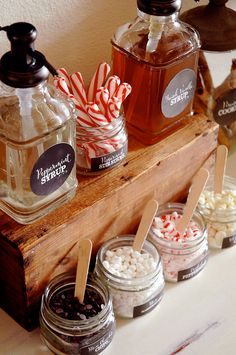 Chalkboard Hot Chocolate Bar FULL by penandpaperflowers on Etsy