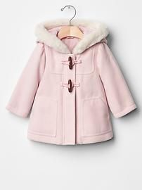 Cozy duffle coat
