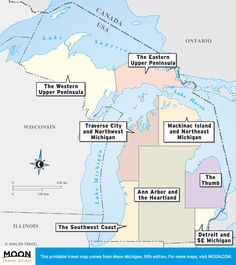 The Great Lakes Lake Ontario Has The Smallest Surface Area But - Great lakes labeled map