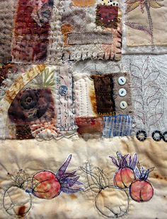Stitch Ritual ~ detail by janelafazio, via Flickr