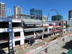 Ballpark Village construction - St. Louis, MO