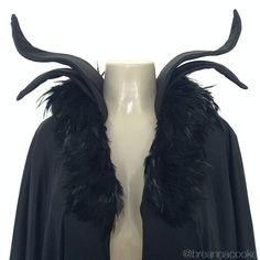 Breanna Cooke Maleficent costume collar DIY