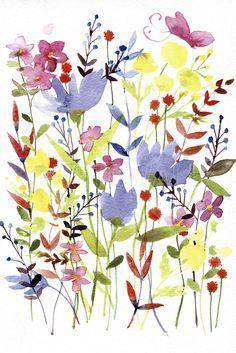 Annes Flowers - Decoration Murale & Papier Peint Photo - Photowall