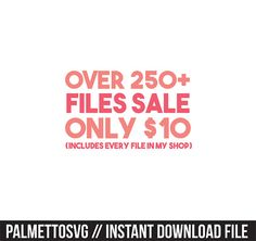 over 250+ files sale svg, Cricut Cut Files, Silhouette Cut Files  Includes 1 zip folders with over 250+ svg, dxf, png images. ** INCLUDES ALL OF THE