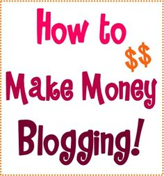 How to Make Money Blogging! - Insider Blog Tips for Beginners and Tricks for Current Bloggers from TheFrugalGirls.com