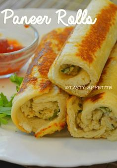 Bread Paneer Rolls    Bread Paneer Roll is a quick and healthy snack recipe that is easy to make and tastes scrumptious.   #BreadPannerRolls