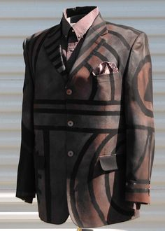 43 R Mens Large Desert Wanderer  Dazzle Jacket by OLearStudios, $88.00