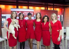 TODAY women GoRed to raise awareness of heart disease
