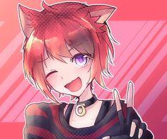 Me Anime, Anime Child, Anime Neko, Anime Style, Neko Kawaii, Neko Boy, Animal Ears, Anime Artwork, Cute Characters