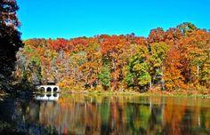 Fall Colors at Dunbar Cave, clarksville, tn