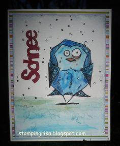 stamping rika: winter