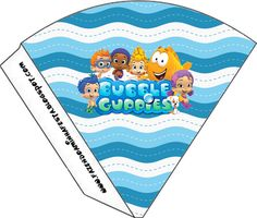 Right click and save as (site is in spanish) Bubble Guppies Cake, Bubble Guppies Birthday, Willy Wonka, Polly Pocket, Birthday Board, Birthday List, 2nd Birthday, Ideas Lindas Para Cumpleaños, Ideas Para