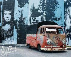 Volkswagen Transporter, Vw Volkswagen, Volkswagen Bus, Vw T1, Vw Camper, Downtown St Petersburg, St Petersburg Florida, Combi Vw, Sports Car Racing