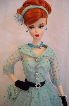 Barbie Silkstone FR Repro Vintage Poppy Parker Fashion Handmade OOAK Mary