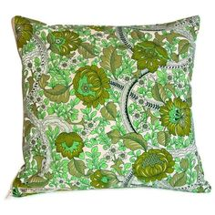 Handcrafted vintage cushion cover in 1960s Burgess Ledward Frome with zip   eBay