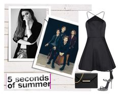 """""""5sos new girl"""" by princess-erika15 ❤ liked on Polyvore featuring MICHAEL Michael Kors, Giuseppe Zanotti, women's clothing, women's fashion, women, female, woman, misses and juniors"""